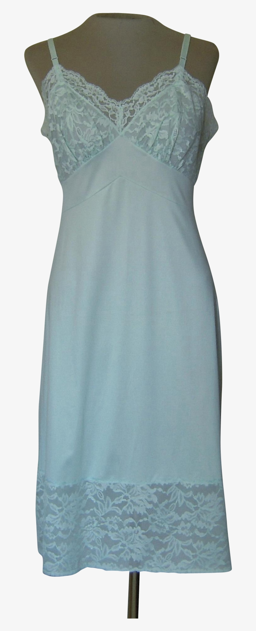 This Vintage Vanity Fair Light Green Slip Is Very Pretty Cocktail Dress Transparent Png 1943x1943 Free Download On Nicepng