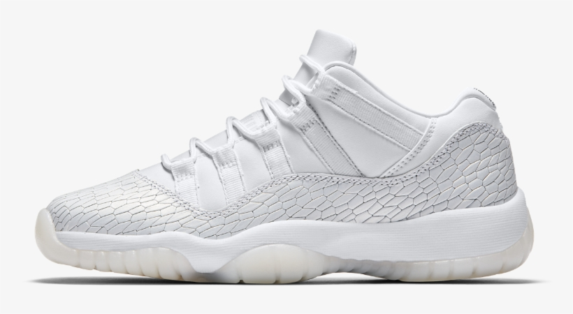 new product 39294 6659d Air Jordan 11 Retro Low Premium Heiress Collection - Nike Zoom All Out Low  White