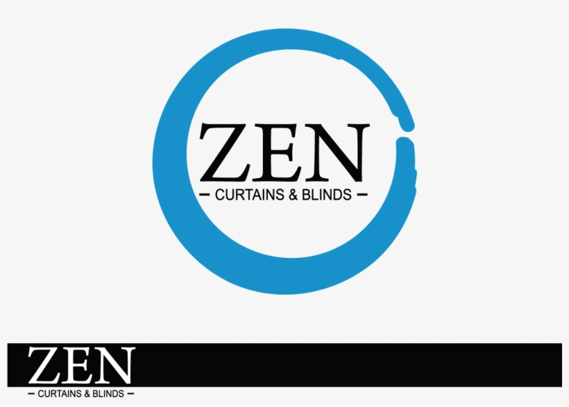 Logo Design By Smdhicks For Zen Curtains & Blinds - Circle