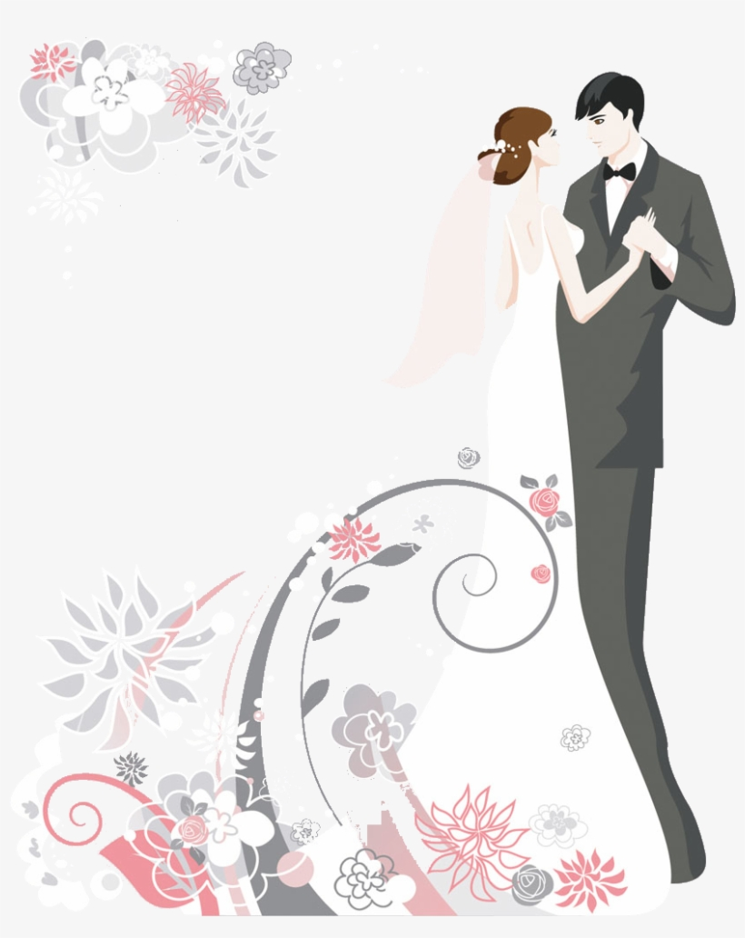 Invitation Cake Clip Art Cartoon Couple Pictures Wedding Couple Images Cartoon Transparent Png 841x1000 Free Download On Nicepng