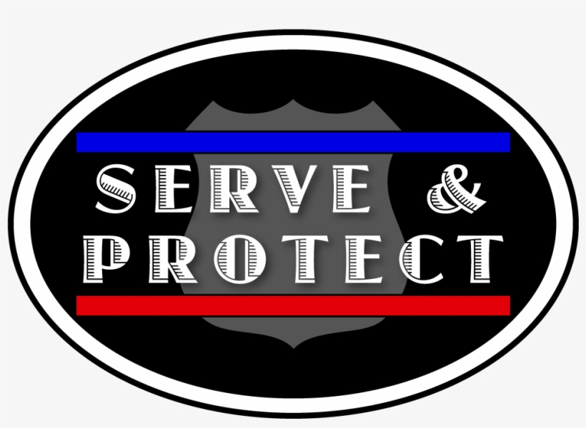 Serve & Protect Logo - Serve And Protect Transparent PNG - 1000x696 - Free  Download on NicePNG