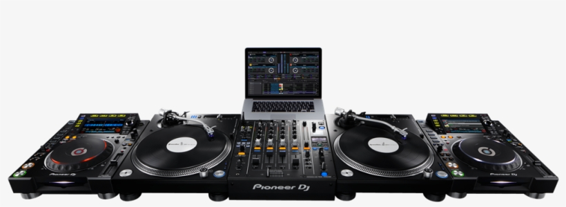 Rekordbox Dvs Setup Front - Control Vinyl Pioneer Dj Rb-vs1