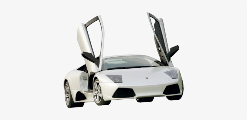 Lamborghini Png Psd Detail White Lamborghini With Open Car Doors