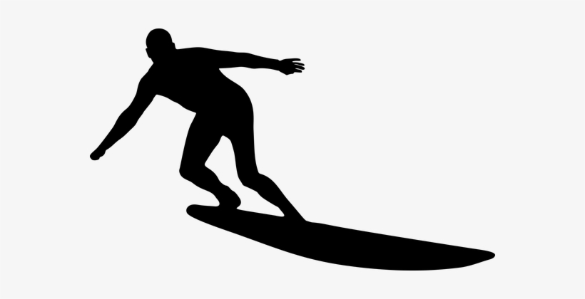 Surfing Man Male Boy People Person Surfer Silhouette
