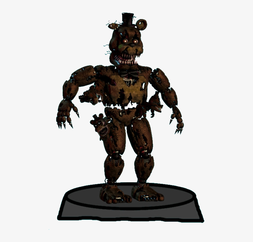 Freddy De Five Nights At Freddy S 4 Transparent Png