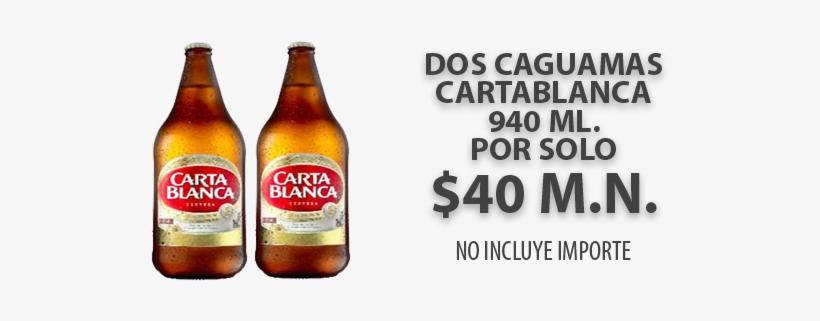 Caguama Tecate Png Carta Blanca Cerveza Caguama Transparent Png