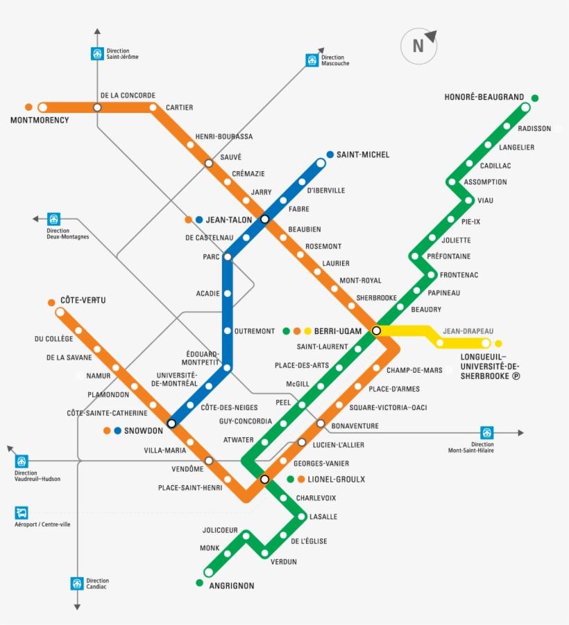 Stcum Metro Map.Montreal Metro Interactive Map Stm Orange Line Metro Montreal