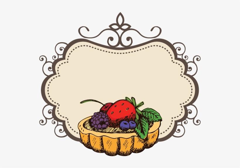 Fruit Cake Logo Design Transparent Png 746x632 Free Download On