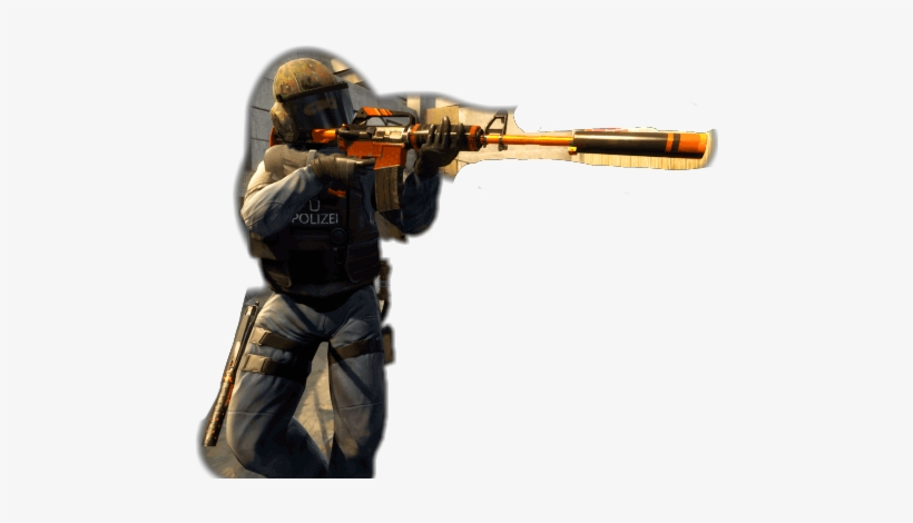 Csgo Counter Terrorist Transparent PNG - 470x390 - Free Download on
