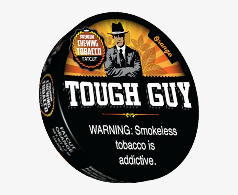 Orange Premium Chewing Tobacco Fat Cut Tough Guy Orange Dip