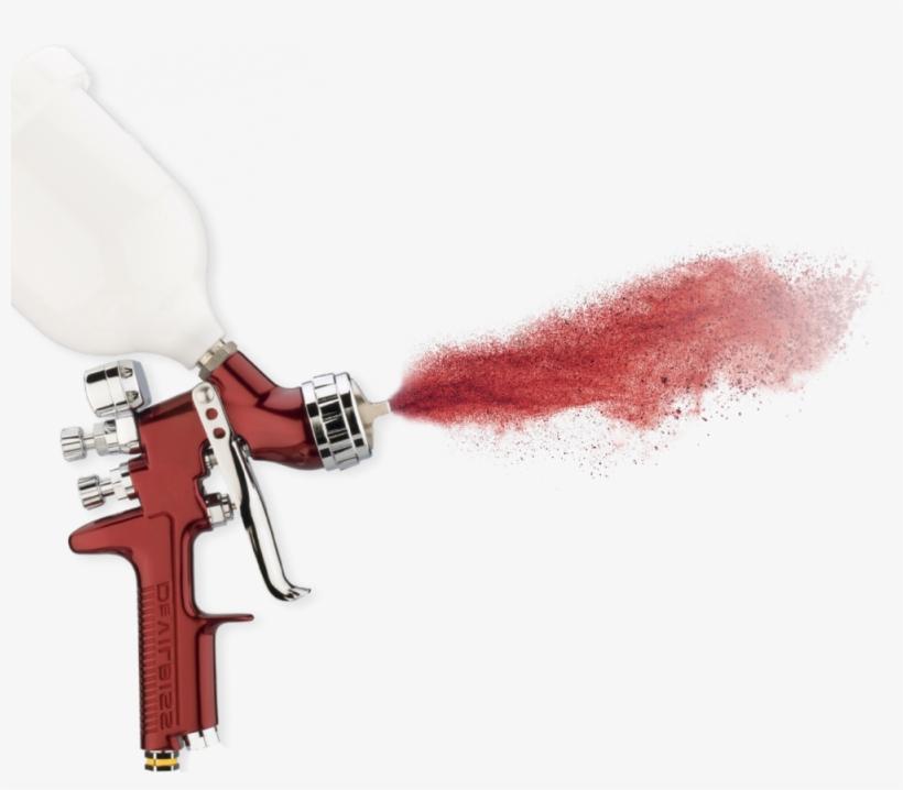 Photo Graphic Cutout Paint Gun Spray