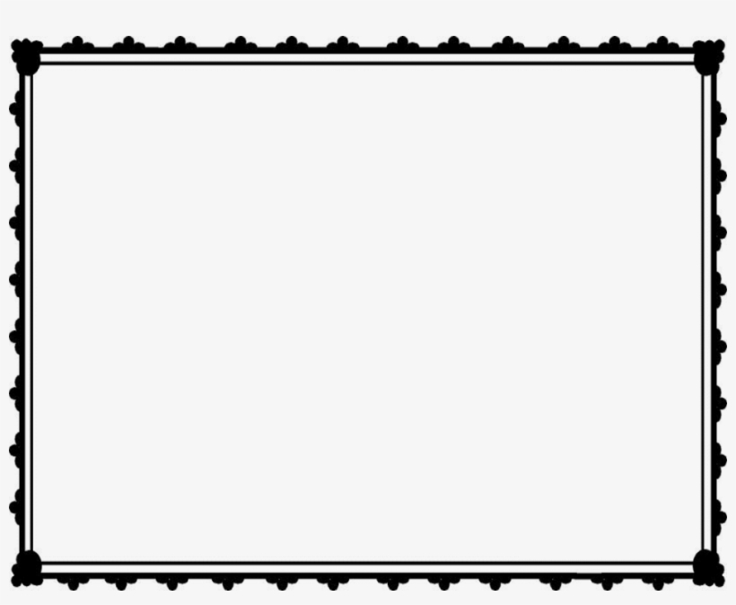 Christmas Certificate Border.Christmas Gift Certificate Clipart Black And White