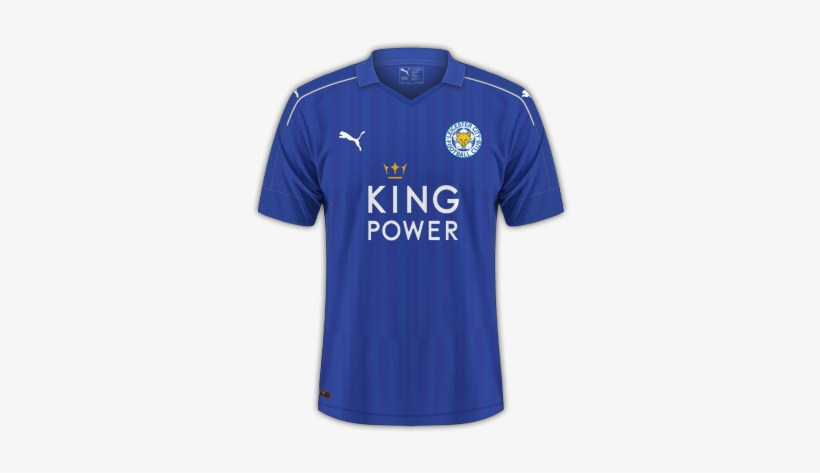 Leicester City 2016 17 Home Leicester City Kit Pes 2017 Transparent Png 420x420 Free Download On Nicepng