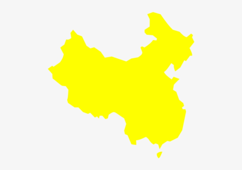 Clipart China Map China Outline White Transparent Png 600x496 Free Download On Nicepng