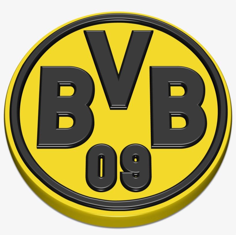 Borussia Dortmund Transparent Image Borussia Dortmund Logo 3d Transparent Png 1280x1212 Free Download On Nicepng