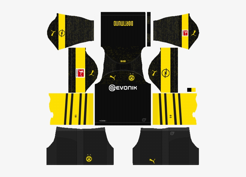brand new f09b6 e6387 Dlskits On Twitter - Dream League Soccer Kit Dortmund 2019 ...