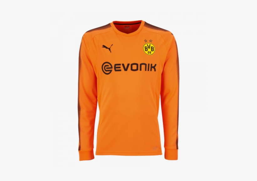 cc1cf7f93 17 18 Borussia Dortmund Goalkeeper Orange Ls Football - Dortmund Gk Kit 17  18