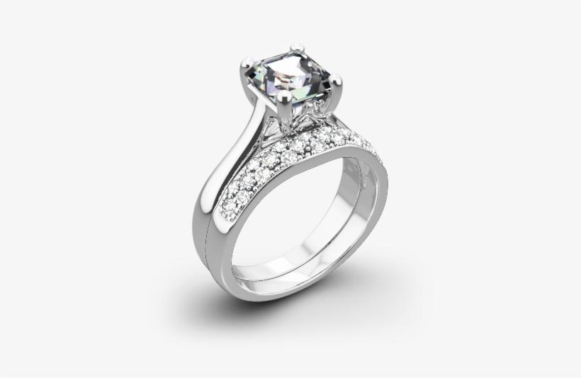 5a563f083dc9ce Vatche 1019 Royal Crown Diamond Wedding Set For Princess - Wedding ...