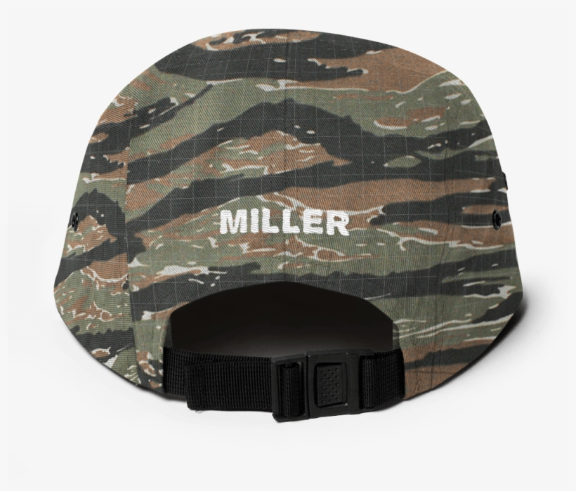 Miller French Fry Five Panel Cap - Armyuniverse Tiger Stripe Camouflage  Military 22