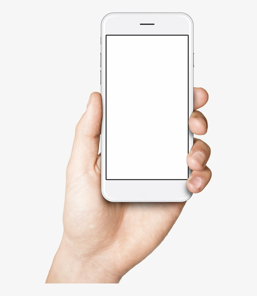 Phone In Hand Png Handphone And Hand Png Transparent Png 533x864