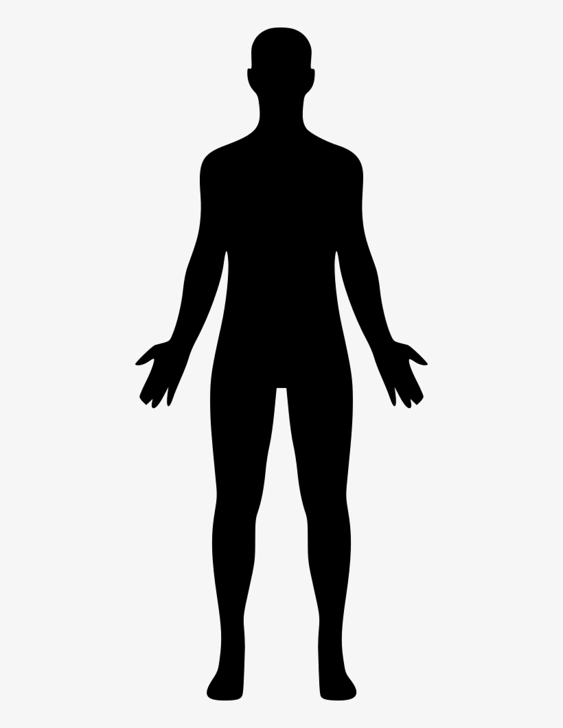 Body transparent background. Human comments clipart png