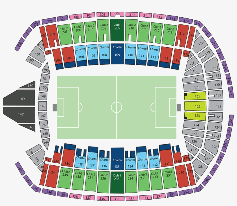 Visting Seattle / Sounders Game Info Thread - Centurylink Field Map on