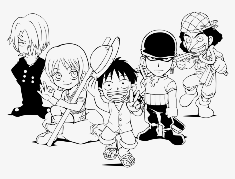 One Piece Lineart By Margotyvy On Deviantart One Piece Monkey D