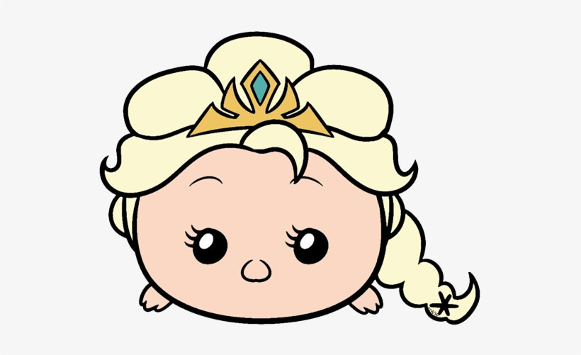 Tsum Tsum Frozen Png Elsa Tsum Tsum Coloring Pages Transparent Png 544x421 Free Download On Nicepng