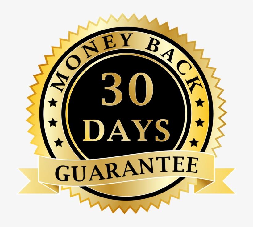 Money Back Guarantee Badge Transparent PNG - 1000x1000 - Free ...