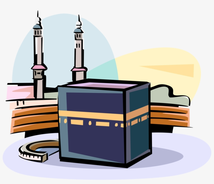 vector illustration of grand kaaba islam sacred mosque ka bah vector png transparent png 860x700 free download on nicepng ka bah vector png transparent png