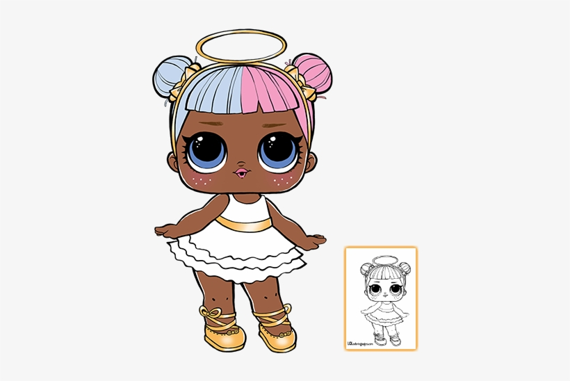 Lol Surprise Doll Coloring Pages Page 9 Color Your - Lol Surprise Coloring  Pages Sugar Transparent PNG - 403x550 - Free Download On NicePNG