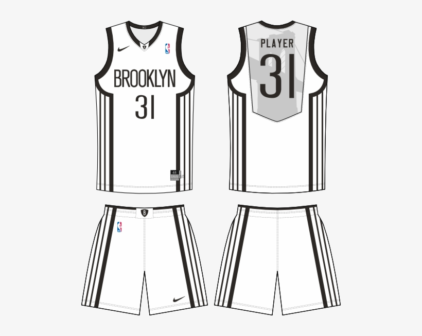 7dd97cd36516 Brooklyn Nets Customized Authentic White Home Nba Jersey - New Jersey Nets  Nba Decal