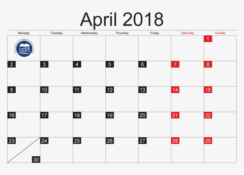 April 2018 Calendar Moon Phases April 2018 Moon Phases - Moon