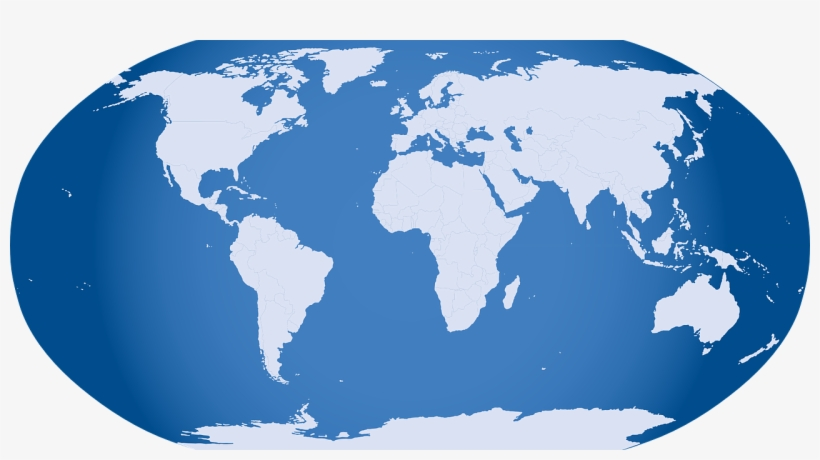 Real World Clipart Earth Transparent Background World Map Grey Png Transparent Png 663x340 Free Download On Nicepng