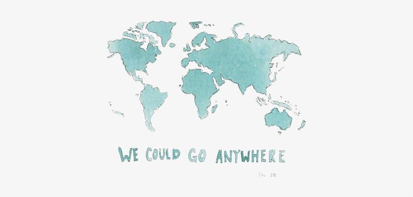 285ca3189d1b Via Tumblr Shared By Dɑnielɑ On We Heart It - Artsy World Map ...