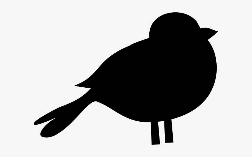 Birds small. Blackbird clipart bird black