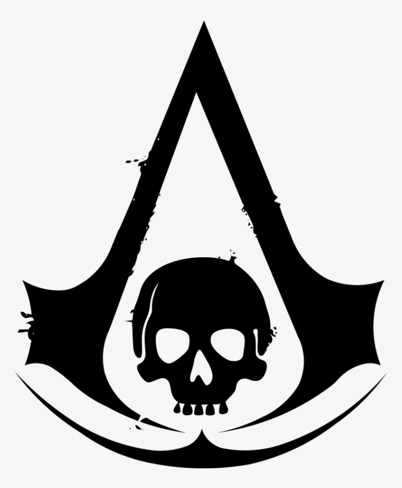 Pirate Assassin Assassin S Creed Skull Logo Transparent Png