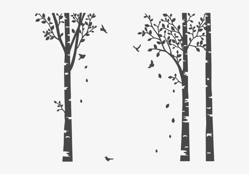 tree wall stickers png transparent png - 600x600 - free download on