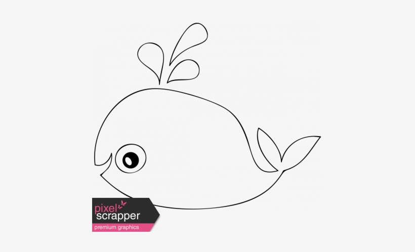graphic regarding Whale Stencil Printable named Cartoon Whale Template - Electronic Sbooking Clear