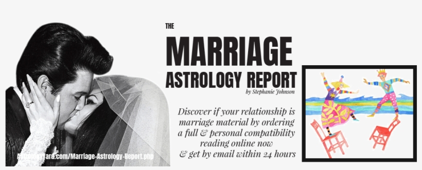 Marriage Compatibility Astrology Report - Elvis Presley