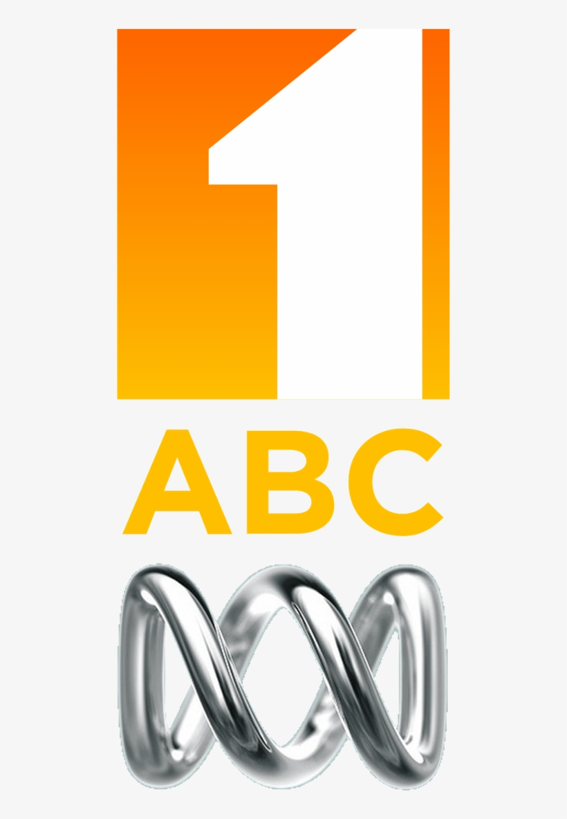Abc Tv (orange) (stacked) - Abc Transparent PNG - 497x1117