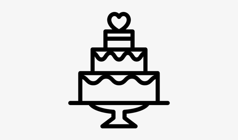 Wedding Cake Vector Wedding Cake Icon Vector Transparent Png