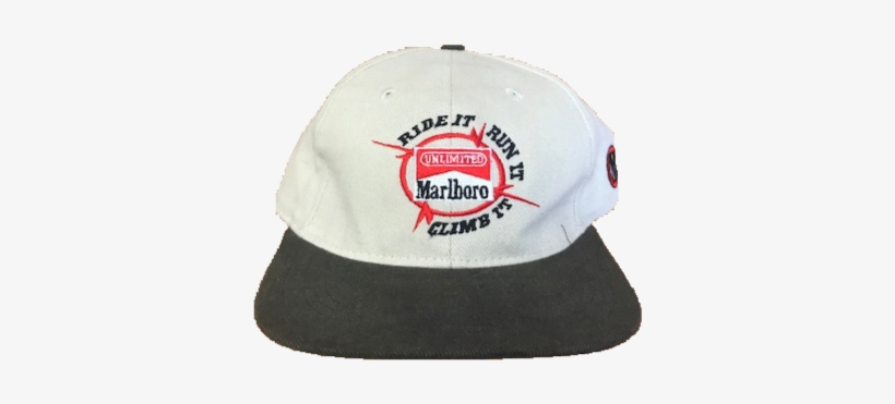 ca205d9ae72f4 Marlboro Unlimited Vintage Strapback Hat - Marlboro Unlimited Cigarettes Baseball  Cap Ride It