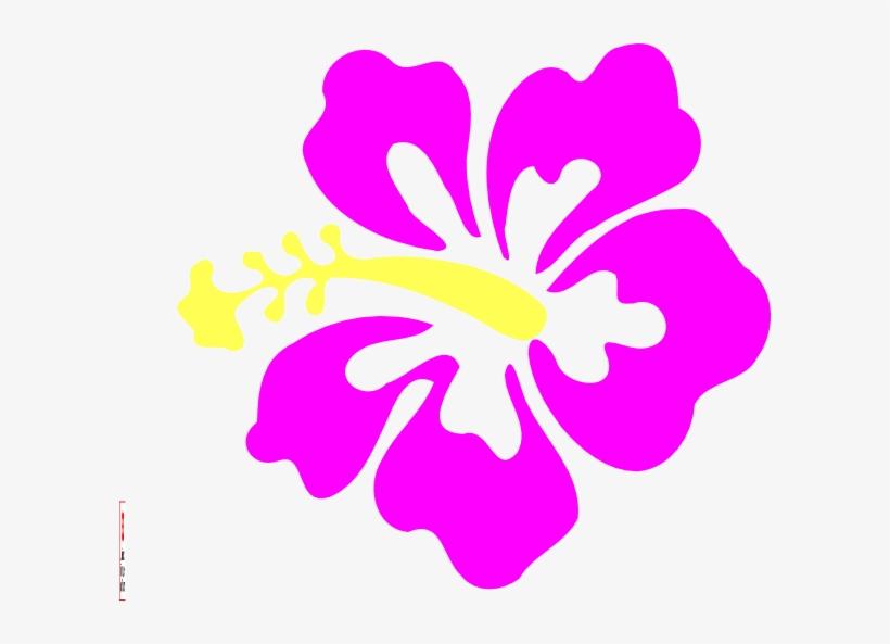 Hibiscus Purple Hibiscus Clip Art Transparent Png 600x513 Free