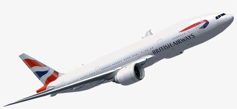 British Airways Png Flight - Boeing 777 Transparent PNG