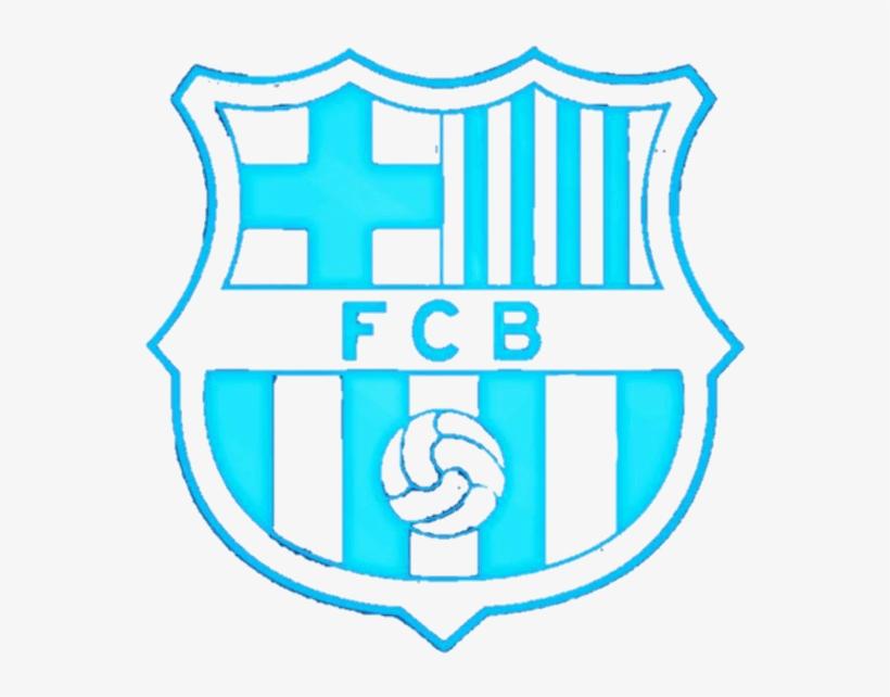 Blue Fcb Logo 2 By Samantha Fc Barcelona Transparent Png 600x623 Free Download On Nicepng