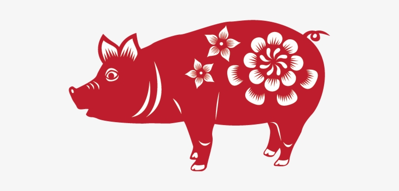 Pig 2019 2007 1995 1983 1971 Chinese New Year Pig Png