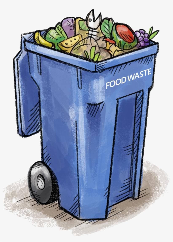 Food Waste Bin - Food Waste Bin Clipart Transparent PNG ...