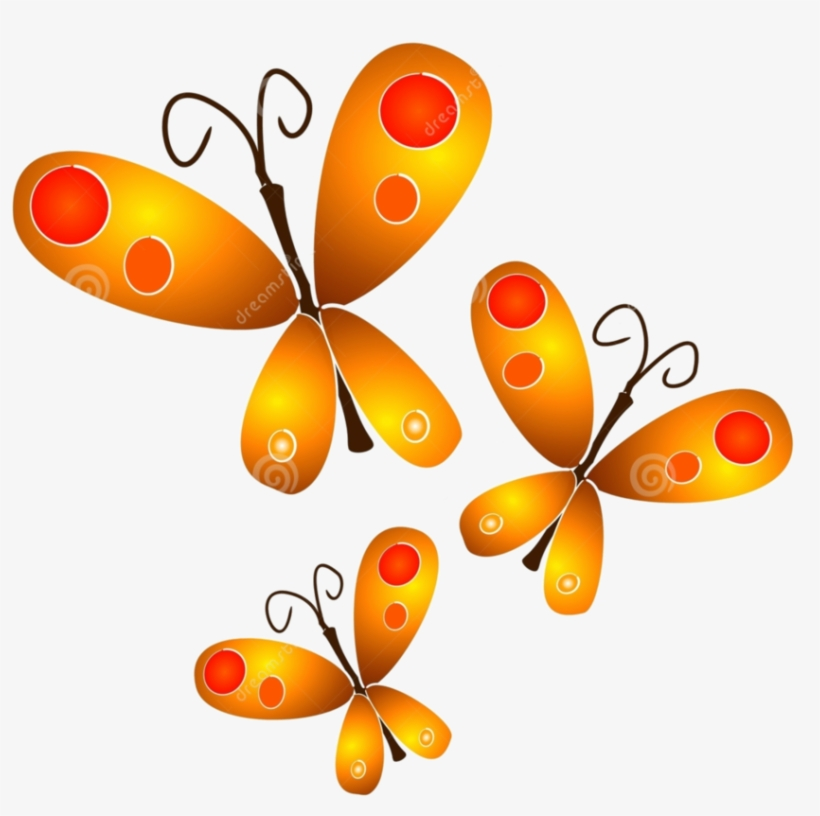 Royalty Free Butterflies Png By Hanabell Butterfly Clipart