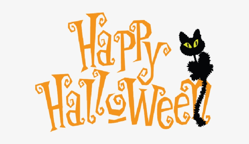 Happy Halloween Clipart - Happy Halloween Transparent Background  Transparent PNG - 600x600 - Free Download on NicePNG